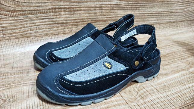 Спецобувь 46 рабочие сандали кроссовки EuroRouter Германия с метал нос