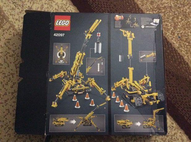 Лего техник подъемный кран lego technic 42097