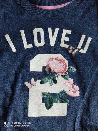 Granatowa bluza H&M 92cm