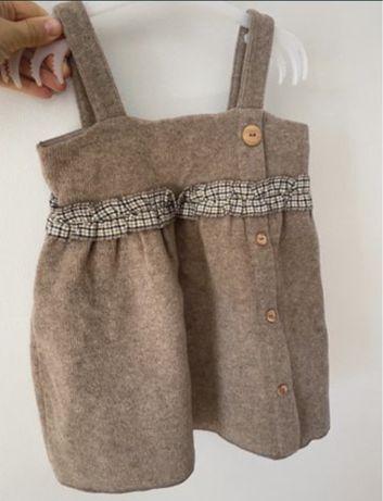 Sukienka Zara, sukienka jesienna, sukienka zimowa 86