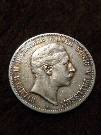 5 marek 1902 A nr 2 Wilhelm ll Prusy