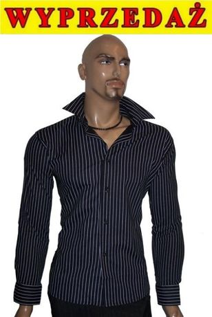 ## wyprzedaż NOWA elegancka KOSZULA Męska SlimFit patrz OKAZJA ##