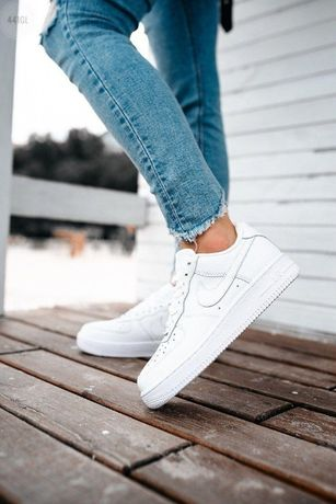 Стильные кроссовки Nike Air Force Low White, женская обувь, ТОП 36-41