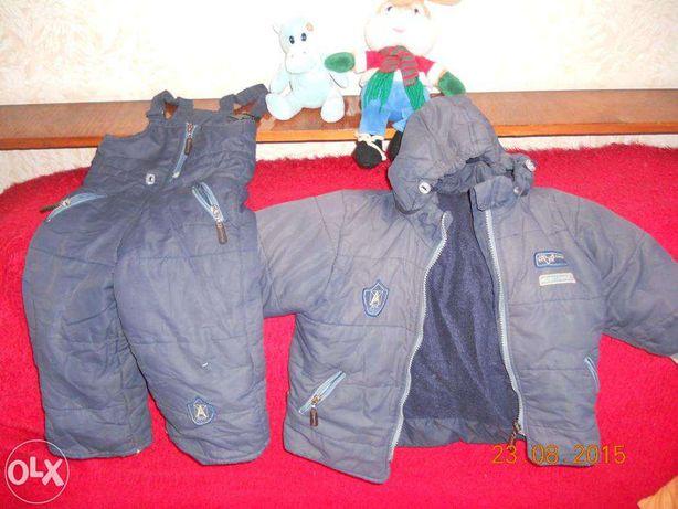 Amadeo Amadeo,курточка и комбинезон, комплект на парня 3-4 года