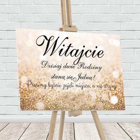 Tablica Powitalna wesele ślub