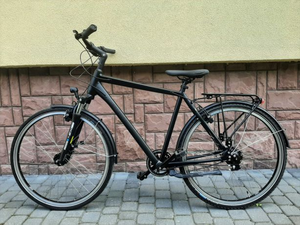 Rower trekkingowy Rabeneick, Rohloff 14-biegów, rama aluminiowa,