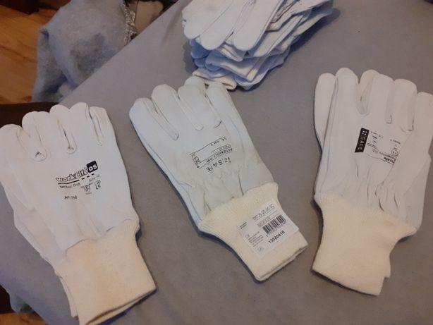 rękawice robocze skórzane