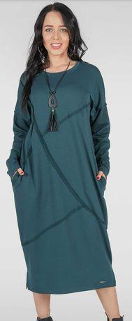 Тёплое платье V&V oversize Цена снижена!