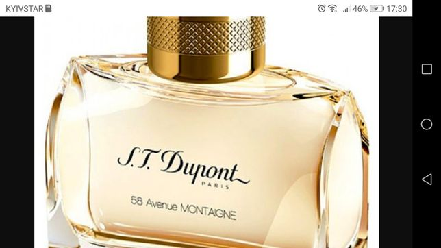 Dupont 58 Avenue Montaigne Femme