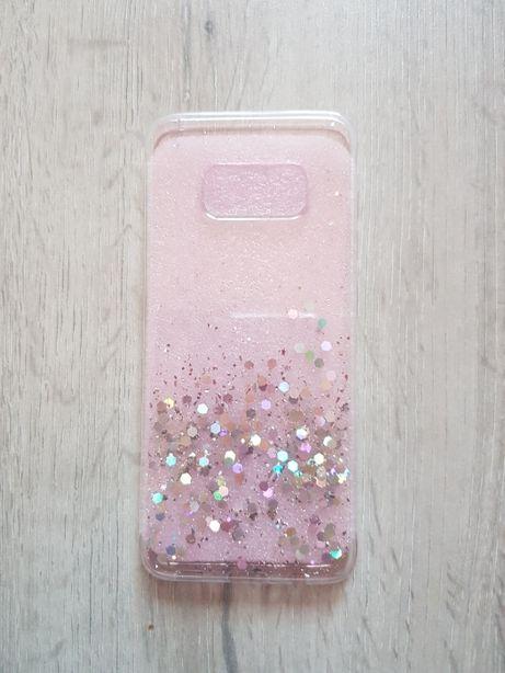 Etui różowe_ brokat Samsung Galaxy S8