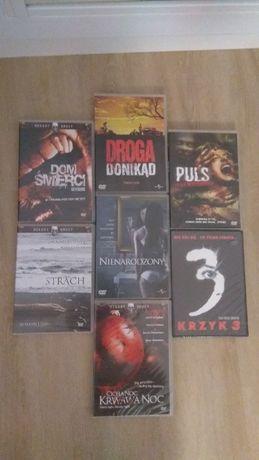 Horrory na DVD (Krzyk 3 , Nienarodzony , Puls i inne )