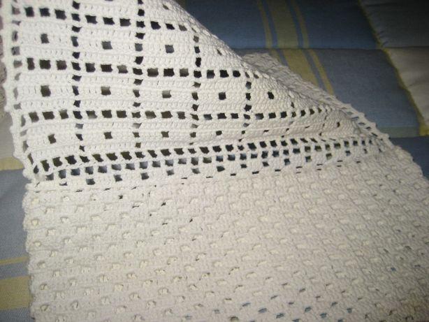 3 bolsas crochet p/guardanapo, década 1950