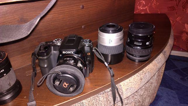 зеркальный фотоаппарат Sony Alfa 100