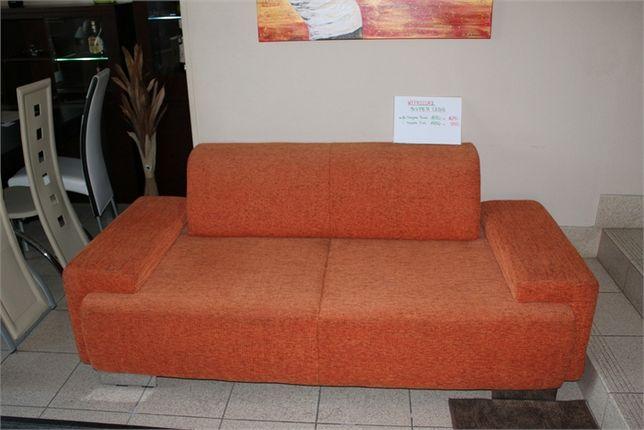 Sofa pomarańczowa -50% SIGMA 3 osobowa