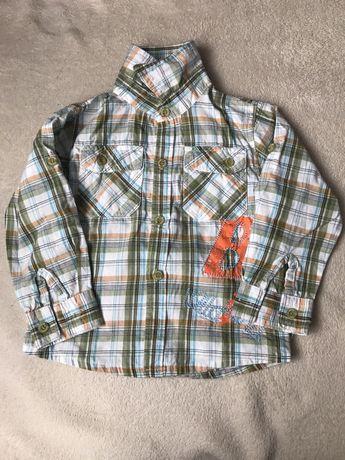 Koszula chłopięca rozm. 98/104