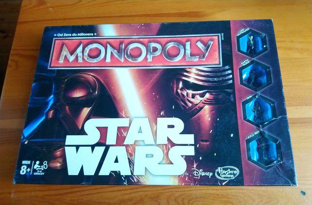 Star Wars Monopoly gra planszowa