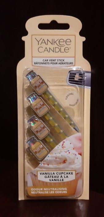 Zapach do samochodu Yankee Candle - Vanilla Cupcake, Car Vent stick