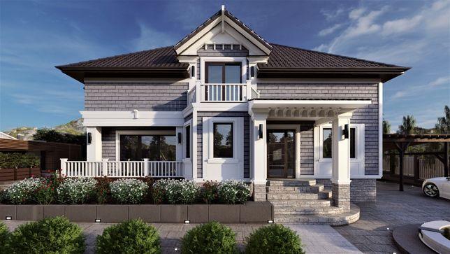 Архитектурные проекты. Проектирование домов. Ландшафтный дизайн.