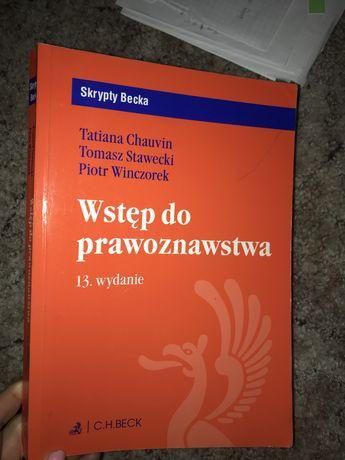 Wstęp do prawoznawstwa Chauvin, Stawecki