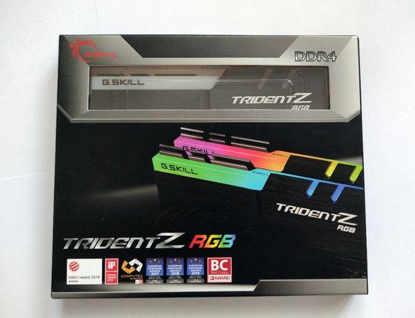 DDR4 G.SKILL TridentZ RGB 32GB (2 x 16GB) F4-3200C14D-32GTZR B-DIE