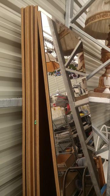 Drzwi z lustrem do szafy komandor 48,5 x 212 cm