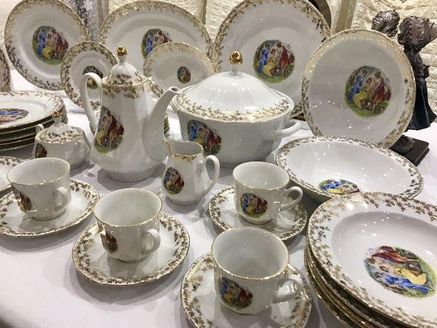 Чайно-столовый сервиз Богемия, Чехословакия