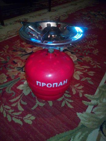 Газовий балон-плита