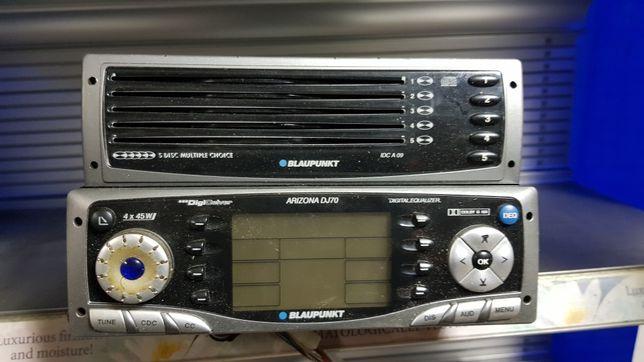 Radio samochodowe Blaupunk + zmieniarka CD