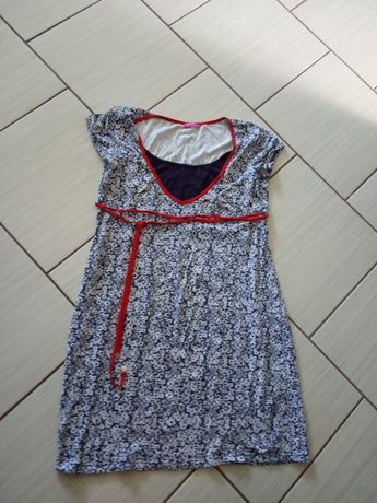 Sukienka ciążowa i do karmienia Happymam S/M