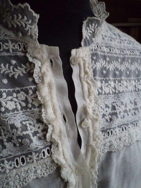 Bluzeczka z jedwabiu i bawełny ZARA r.XL