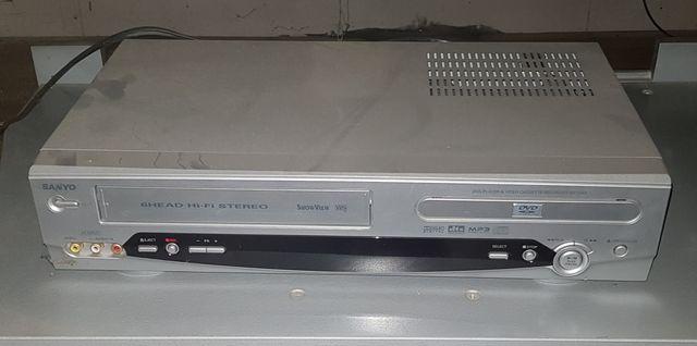 Odtwarzacz DVD, VIDEO z nagrywarką DVD marki Philips