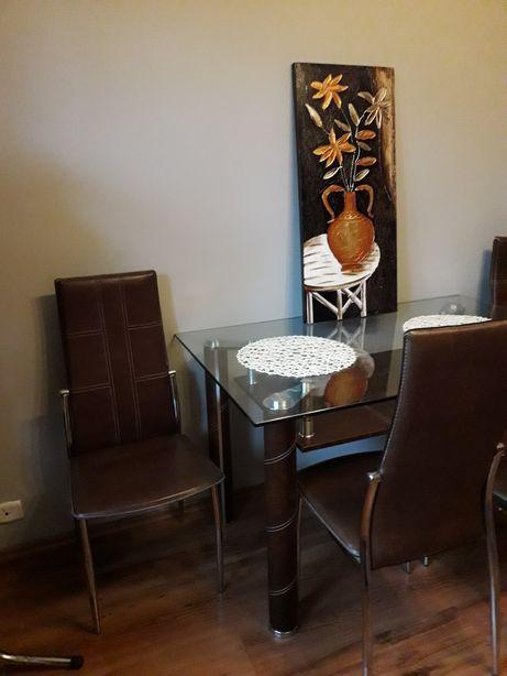 Stol i  4krzesła