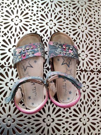 Sandałki dziewczęce róż. 34