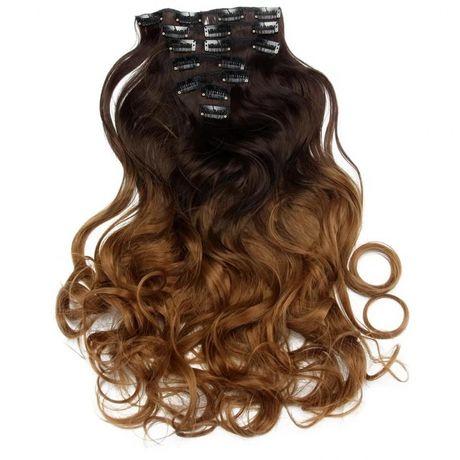 накладные волосы на заколках омбре амбре серый пепельные блонд
