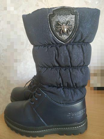 Зимние сапоги новые для девочки