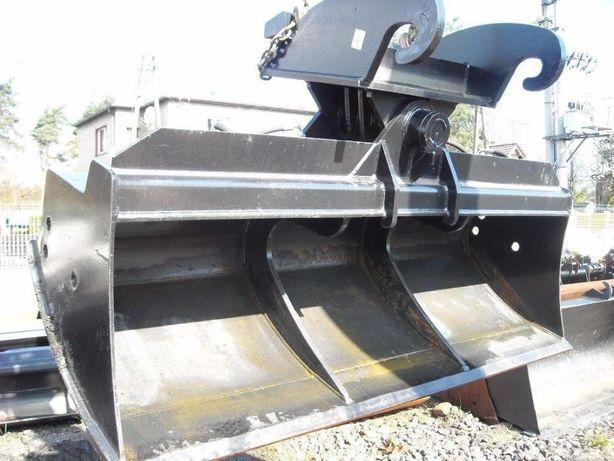 Łyżka skarpowa hydrauliczna o szerokości 1800 mm