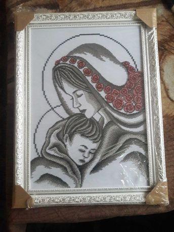 Продам ікону Мадонна з немовлям