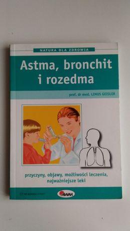 Astma, bronichit, rozedma, książka, układ oddechowy