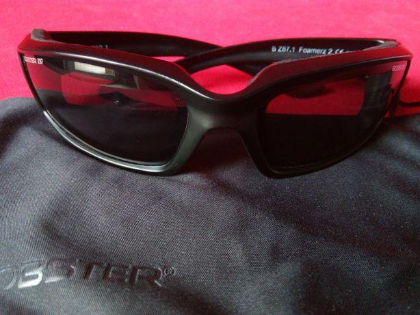 Zawodowe okulary przeciwsłoneczne BOBSTER 87 z nówki na rower , motor