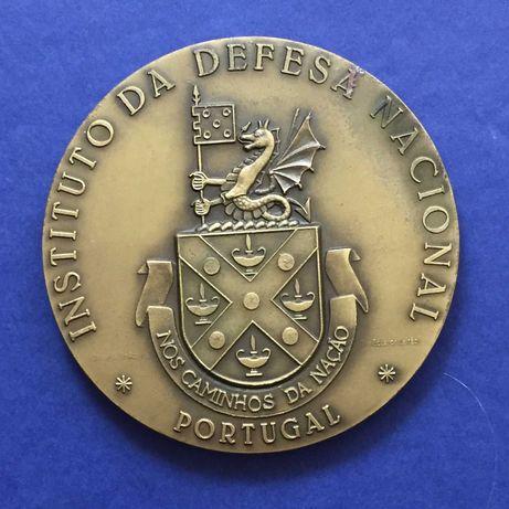 medalha INSTITUTO DA DEFESA NACIONAL-Nos Caminhos da Nação-80mm