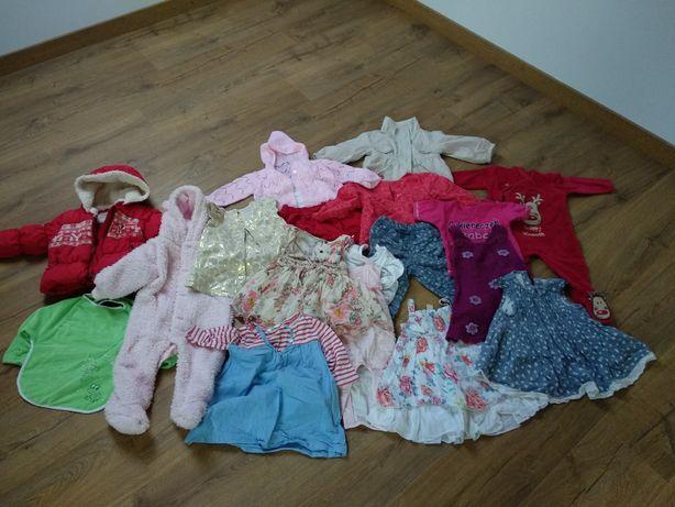 Ciuszki dla dziewczynki 6-9 miesięcy