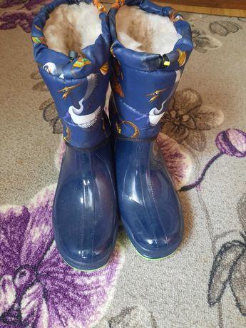 Резинові чобітки утеплені