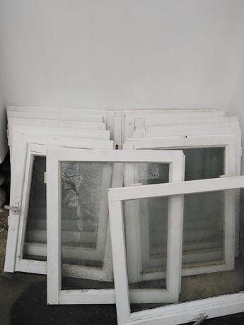 Okna drewniane- białe