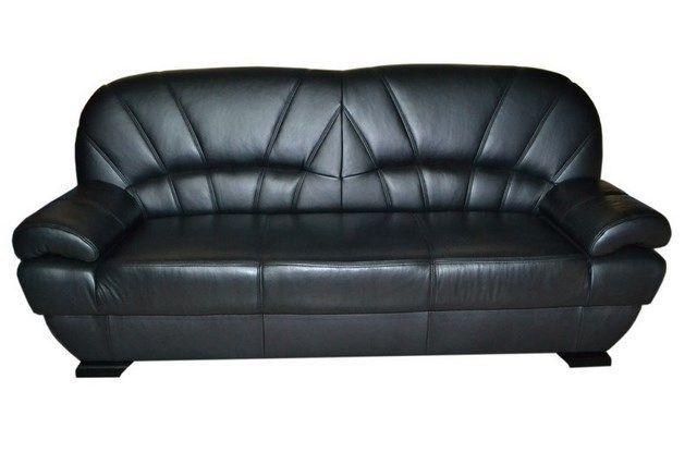 Sofa kanapa tapczan wersalka funkcja spania prawdziwa naturalna skóra