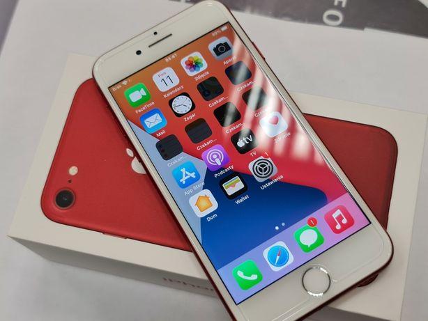 Piękny Iphone 7 256GB/ Red/ Czerwony/ 100% oryginalne komponenty/ Gwar