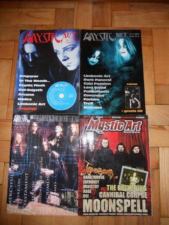 Czasopisma Mystic Art zamienię na Morbid Noizz, Jazgot lub plakaty