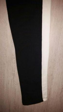 oryginalne legginsy z lampasem firmy BonPrix NOWE. 40/42 okazja