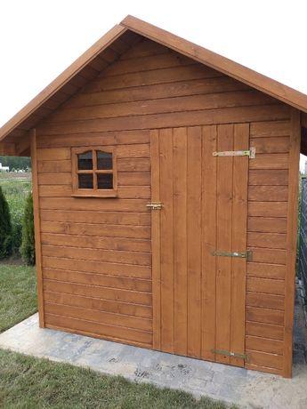 Domek ogrodowy narzędziowy drewniany z dowozem i montażem