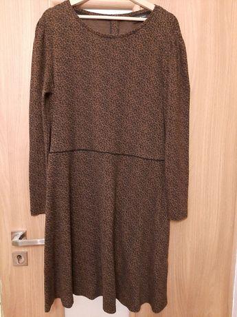 sukienka rozm L (46) C&A brązowa