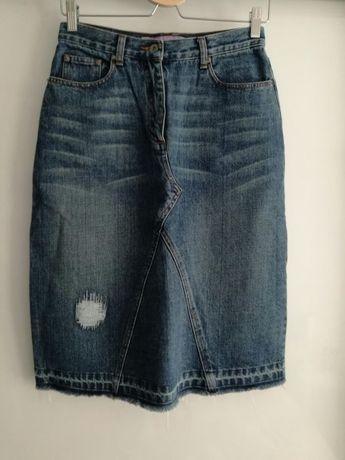 Spódnica jeansowa Fishbone